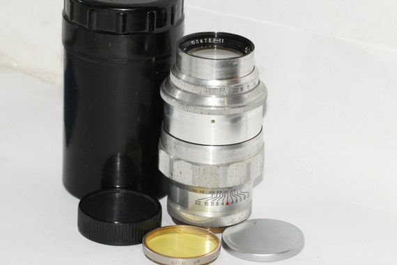 Jupiter-11 (4/135) LTM Russian Lens for RF cameras M39 FED Leica Zorki #7000277q