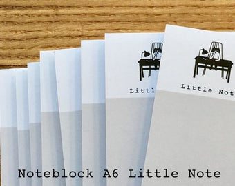 Noteblock noteblok A6 Little Notes writing pad notebook notebook Small Cat Cat Happy