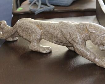 Sold!!! Mid Century Sleek Ceramic Panther