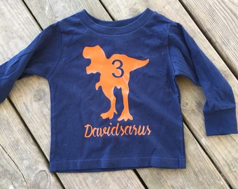 Dinosaur Shirt, Birthday Boy Shirt, Dinosaur Birthday Shirt, Toddler Shirt