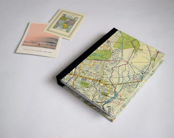 London Travel Journal, UK travel journal, europe travel journal, city map journal