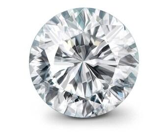 0.93ct H SI2 GIA Loose Diamond - GIA Certified Round Brilliant Diamond - Round Cut Diamond - Natural White Diamond