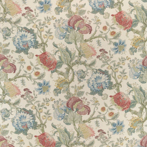 Cowtan Amp Tout Jacobean Tree Of Life Fabric 10 Yards Rose