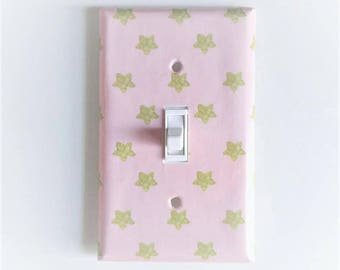 Pink Nursery Decor Etsy - Light pink nursery decor