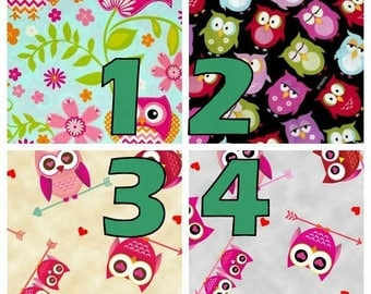 Owls Crib/Toddler Fitted Sheet