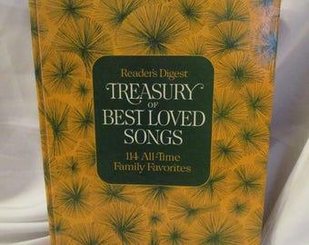 Readers Digest Treasury of Beloved Songs 1972