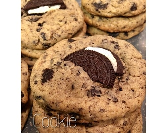 Oreo Chunk Cookies