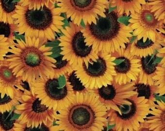 Sunflowers - Elizabeth's Studio Fabrics- 100% Cotton Fabric