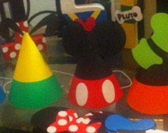 Mickey Mouse Clubhouse Party Hats