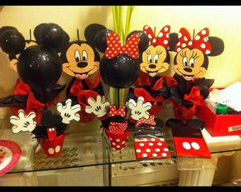 Mickey & Minnie Mouse head