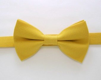 Mustard yellow bow tie,Yellow bow tie,Easter bow tie,Wedding bow tie for Men,Toddlers ,Boys,baby