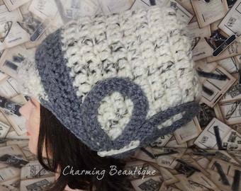OOAK Nefertiti Hat Crochet Hat Crochet Wool Hat Hats With Brim Womens Hat Wool Hat Winter Hat African Hats Womens Crochet Hat Knit Hat