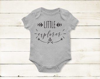 Little Explorer Onesie * Adventure Onesie * Infant Bodysuit *Gifts for baby * Baby Shower *Quote Onesie *Unisex