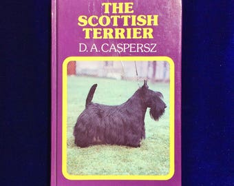 The Scottish Terrier Dog Vintage Book by Casperz