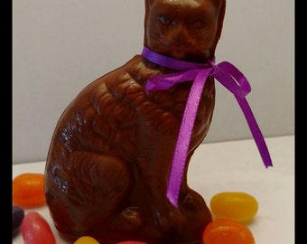Our solid chocolate Symon the Cat. The purrrfect gift for any Cat Lover!