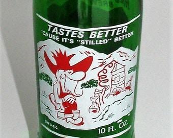 Hillbilly Soda Bottle Very Cool Hillbilly Decor Great Collector Decor Piece