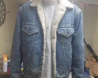 Men's vintage levis denim jacket