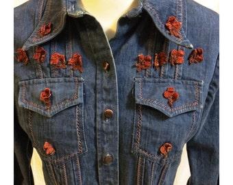 Vintage 70's Western Denim Shirt