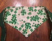St Patrick's day pet bandana pet dcarf for dog, cat, puppy, kitten in extra small, small/medium, large, extra large