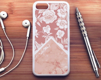 Floral Marble iPhone 7 Case floral iPhone 6s Case iPhone 6 Plus Case iPhone 6s Plus Case iPhone 5s Case Floral iPhone SE Case iPhone 5c Case