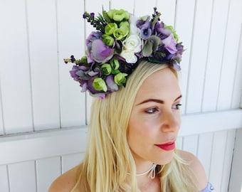 Mixed Hydrangea Headband
