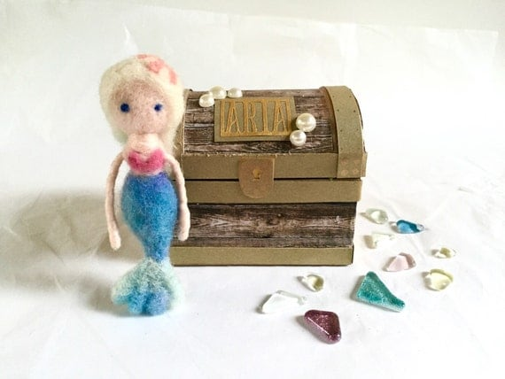 Customizable Mermaid Doll Gift Set