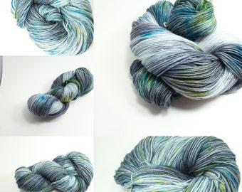 Superwash Sock Merino and Nylon Comfort Sock Base  - Grey Gull colorway