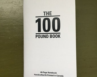The Hundred Pound Book - Lined 3 pack