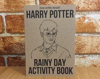 Harry Potter Colouring & Activity Book