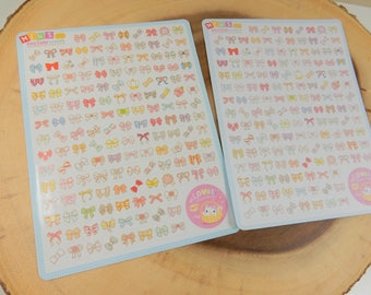 Bow Stickers, Bows Decal, Scrapbooking Supplies, Wedding Invite Decoration