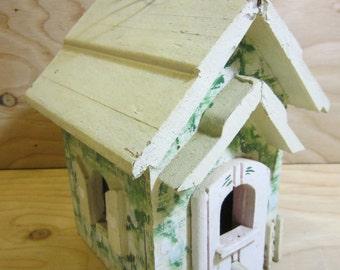 Rustic Shabby Chic Wood Birdhouse
