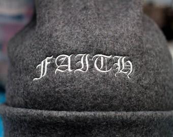 Faith Fleece Winter Hat READY TO SHIP