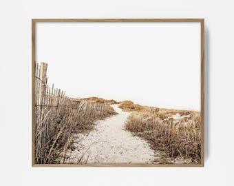 coastal print, coast print, coast art, coast wall art, wall decor, beach decor, beach wall art, beach decor, beach path, nautical print