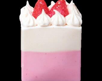 Cake Soap Strawberry Short Cake