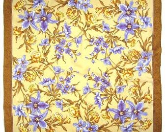 Russian Silk Shawl Fragrance of Spring - #105bb