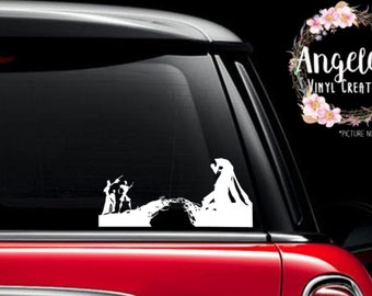 The Tale of Three Brothers -vinyl sticker -vinyl decal -car decal -car sticker -window decal -window sticker -potter -magic
