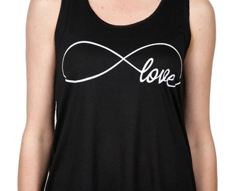 Infinite Love Tank Black (TT-200B)