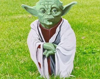Yoda of Star Wars lawn art garden decorations lawn deco yard art