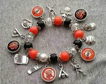 San Francisco Giants Charms bracelet