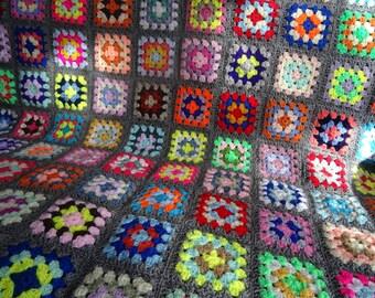 Crochet Edge Blanket Etsy
