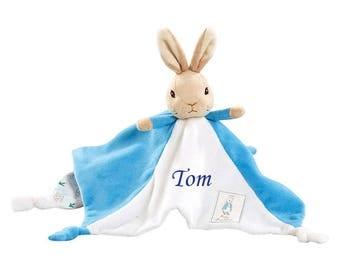 Personalisable Baby Comforter- Peter Rabbit