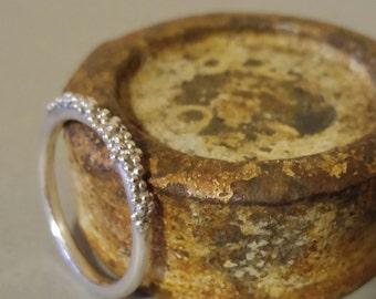 Sterling Silver bobble ring | Silver Ring | Bobble Ring | Sterling Silver Ring | Beaded ring | Frederickmaijeweller