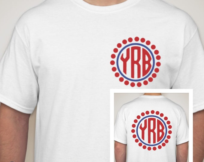 Circle Monogram Tshirt