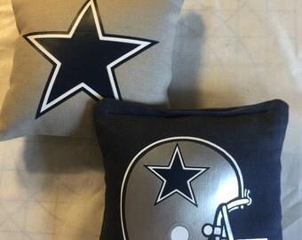 Dallas Cowboys cornhole bags
