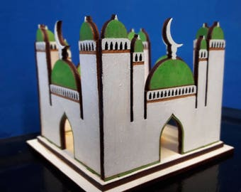 Small Mosque lantern for tealight