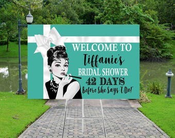 DIGITAL FILE Baby and CO, Bride and Co, Party, Babyshower, Bridal Shower, Welcome Sign