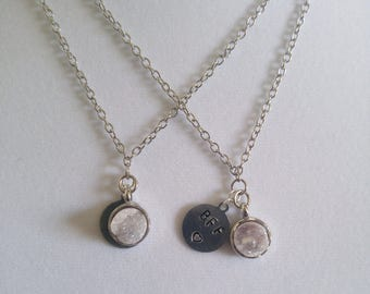 Crystal Best Friend necklaces
