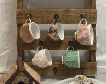 Cotton porcelain, tea/coffee cups made of fabrics, PDF tutorial