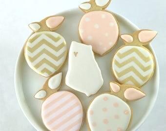 Peach Party Cookies - Georgia- Sugar Cookies- Vanilla
