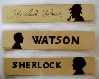 Bookmark Sherlock / Sherlock bookmark